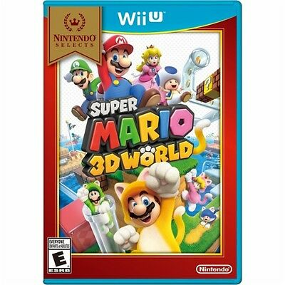 Nintendo Wii U Super Mario 3D World NEW Sealed for N&S America consoles USA Game