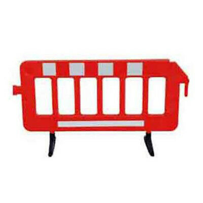 """Portable Plastic Traffic Fence Barriers 