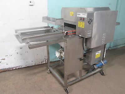 """BELSHAW TG-50"" COMMERCIAL H.D. DONUTS CONVEYOR THERMOGLAZER MACHINE 208V, 1Ph"