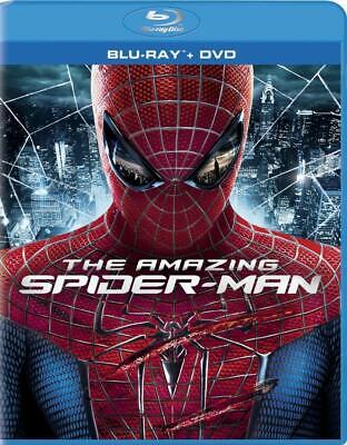The Amazing Spider-Man (Blu-ray/DVD, 2012, 3-Disc Set) NEW