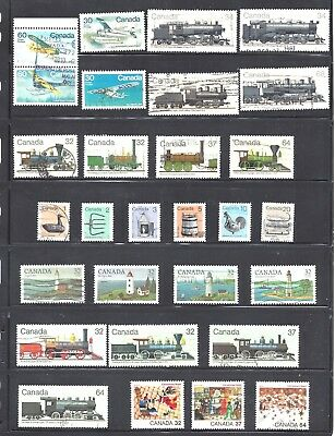 Canada SELECTION OF SETENANTS AND SETS #2 USED (BS10428)
