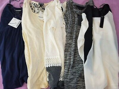 Women's Clothing lot size S and XS, winter tops NWT 5 pieces Ref#BS2