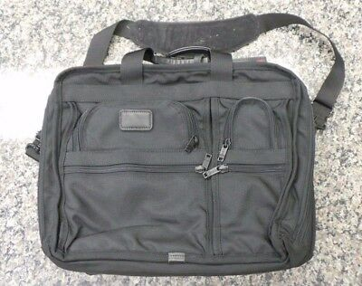 AUTHENTIC Tumi  Computer Bag With Tumi Shoulder Strap 108613-12 LOC. N-5