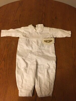 NWT Baby Boy 12 Months Little Things Mean A Lot Baptism Outfit