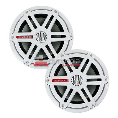 """JL AUDIO M650-CCX-SG-WH 6-1/2"""" Marine Speakers with White Sport Grilles New"""