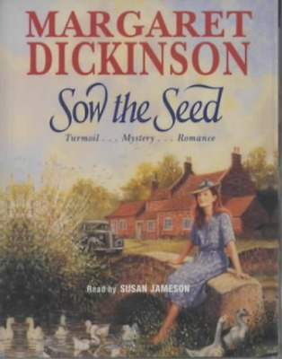 Margaret Dickinson-Sow The Seed  (UK IMPORT)  Audio Cassette NEW