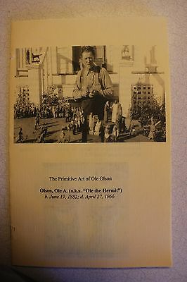 Ole the Hermit 24 pg Booklet - 45 Color Pictures Illustrating Over 100 figures!