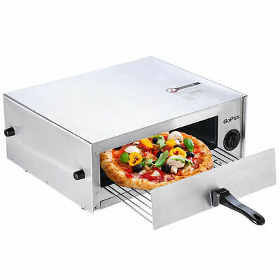 Home-Kitchen-Pizza-Oven-Stainless-Steel-Counter-Top-Snack-Pan-Bake-Commercial  H