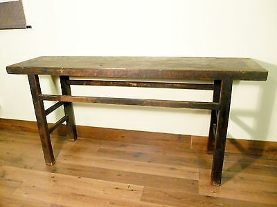Antique Chinese Ming Painting Table (5554), Cypress/Elm Wood, Circa 1800-1849