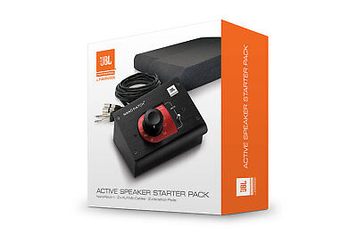 JBL LSR Active Studio Monitor Starter Kit, inc. Nano Patch/Cables/Isolation Pads