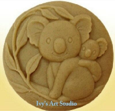 Lovely Koala Silicone Soap Mold/Candle Mold/Mould One Cavity
