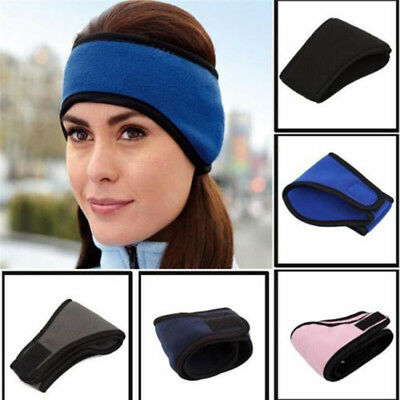 New Ear Warmer Winter Head Band Fleece Ski Ear Muff Stretch Spandex Earmuffs US