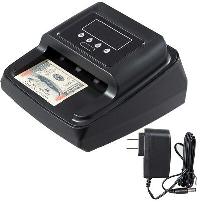 New Automatic Counterfeit Bill Detector Money Counter Detection For US Currency