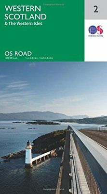 OS Road Map 2 Western Scotland & the Western Isles,SM,OS Road Map 2 Western Sco