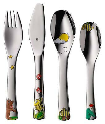WMF Children's Crockery Set 6-Piece Janosch Polished 18/10 Stainless Steel...