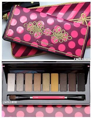 MAC Nutcracker Sweet Warm Eye Palette w/Dual Eyeshadow Brush Holiday NIB ⭐️ SALE