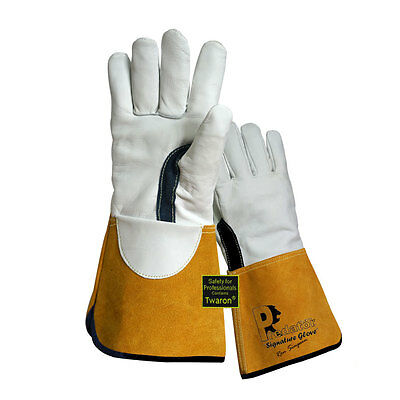 High Quality Prestige Predator TIG Welders Gauntlets Welding Gloves x 2 pairs