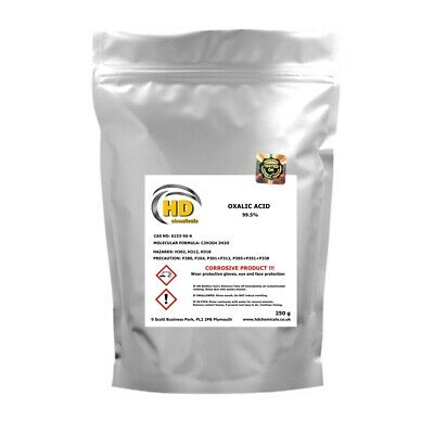 Oxalic Acid PURE 99,5% Hull • Deck • Cleaner & rust remover • FREE COURIER