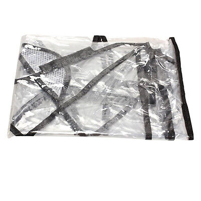 Universal Waterproof Rain Cover Wind Dust Shield For Baby Pushchairs Strollers