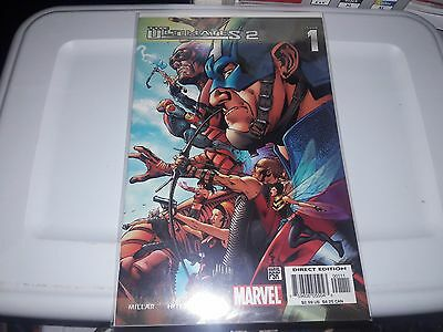 Ultimates 2 (2005); 1 - 13, annual 1 & 2, 15 issue set/lot/run; Bryan Hitch