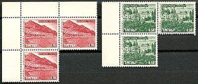 Israel Nice Lot Of 2 Blocks Mnh** Stamps -Cag 250115