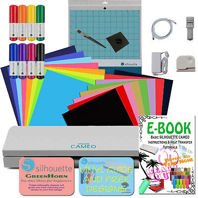 Silhouette Cameo 3 - Oracal Vinyl Sheets Siser HTV Pens, Tools and many more...