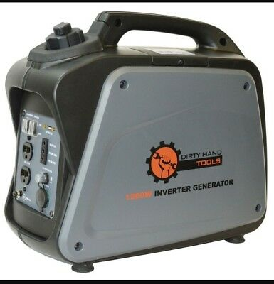 Dirty Hand Tools 1200W Gas Powered Inverter Portable Generato