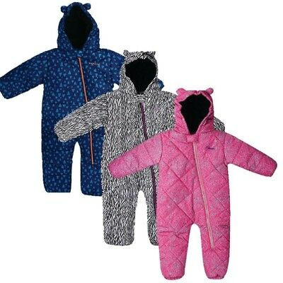 DARE 2B BREAK THE ICE PADDED INSULATED KIDS SNOW SUIT PINK BLUE or WHITE DKP341