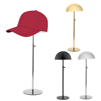 Adjustable Stainless Steel Hat Cap Wigs Holder Stand Display Drying Storage Rack
