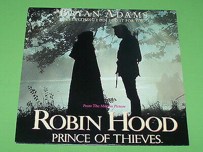 """Bryan Adams - Everything I do I do it for you Robin Hood - 1991 A&M 7"""""""