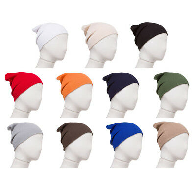Combed Cotton Beanie for Newborns and Infant Girl and Boy Babies (Ships from US)
