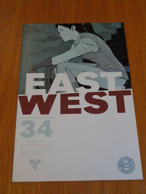 East Of West #34 Image Comics August 2017 Vf (8.0)
