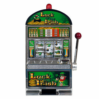 Brand NEW Luck of the Irish Slot Machine Bank 10-41447