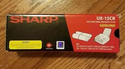 Sharp~UX-15CR~Genuine Fax Machine Imaging Film, New in box.