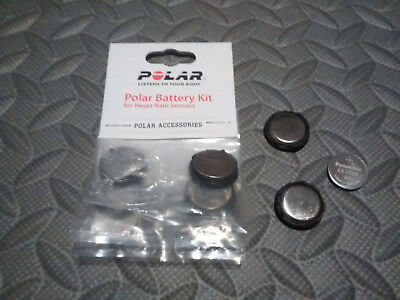Polar Wearlink H1/H2/H3/H7/H10 Battery Cover Replacement With New CR2025 Battery