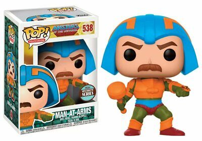 Funko Pop! Masters Of The Universe Man At Arms Specialty Series Vinyl Figure