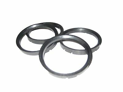 4x Coyote Wheel Hub Centric Rings 72.56mm ID to 83mm OD Plastic W83-7256