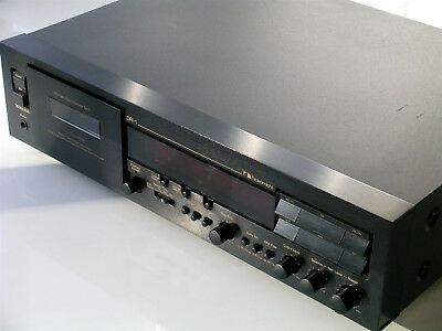 Nakamichi DR-1 Cassette Deck - 3 Heads + Azimuth control on Playback (240v)