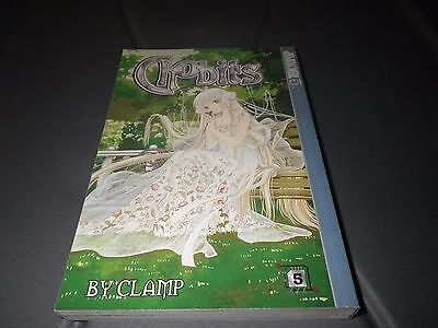 Chobits Vol. 5 by Clamp Staff (2003, Paperback, Revised) Tokyopop Manga