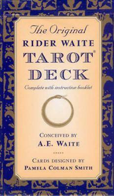 The Original Rider Waite Tarot Deck by Arthur Edward Waite | Cards Book | 978071