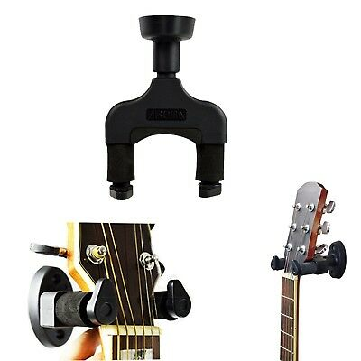 Guitar Hanger Rack Hook Holder Wall Mount Bracket Keeper Home & Studio Displa...