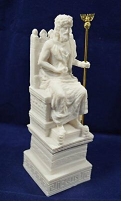Zeus throne sculpture statue ancient Greek God king of all gods