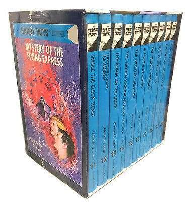 The Hardy Boys Collection: 10 Hardcover Books Box Set Franklin W Dixon Vol 11-20
