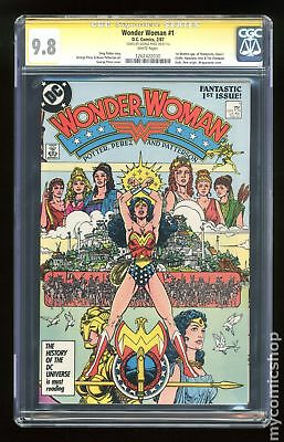 Wonder Woman (1987 2nd Series) #1A CGC 9.8 SS 1262422030
