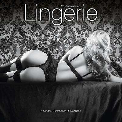 Lingerie 2018 Calendar 15% OFF MULTI ORDERS