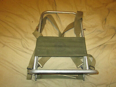 Vintage Boy Scouts of America Official External Canvas Backpack Frame Aluminum