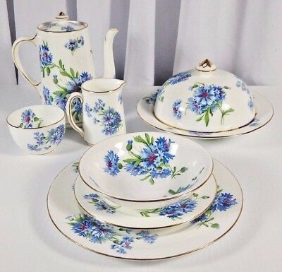 Hammersley & Co Bone China in 8 Pcs Mixed Set - Pre-owned