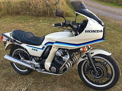 1982 Honda CBX1000 not GSXR or CB1100