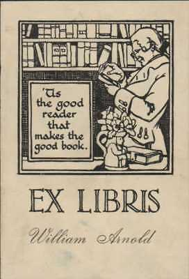 William Arnold.  Bookplate   Ri.683