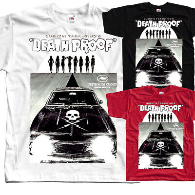 DEATH PROOF Ver. 10, Quentin Tarantino, posterT SHIRT all sizes S to 5XL